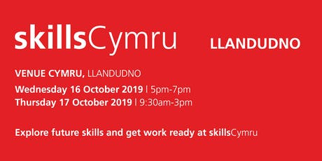 SkillsCymru Llandudno 2019 tickets