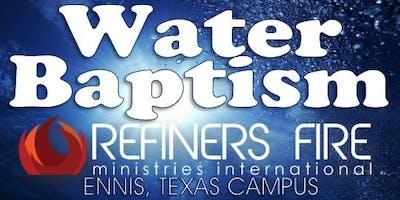 Water Baptism at Refiner's Fire Ennis - June