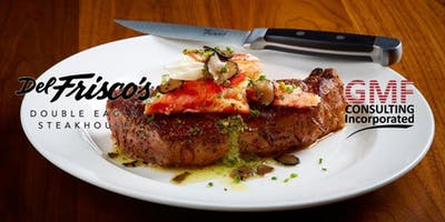 "Friday Lunch Break @ Del Frisco's Double Eagle Steakhouse, part of ""The 4 Series Lunch Breaks"""