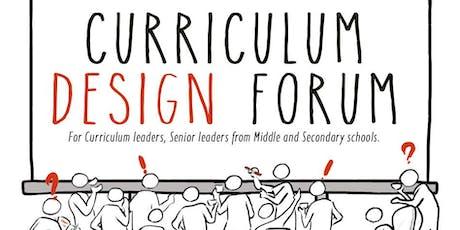 Curriculum Design Forum tickets