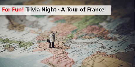 Trivia Night · A Tour of France tickets