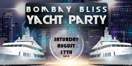 Bombay Bliss Yacht Party - 2 Levels Of Music tickets