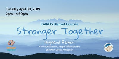 Kairos Blanket Exercise-Stronger Together-Highland Region