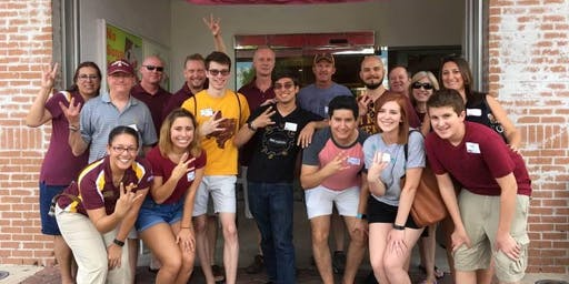 San Antonio, TX: ASU Sun Devil Send-Off