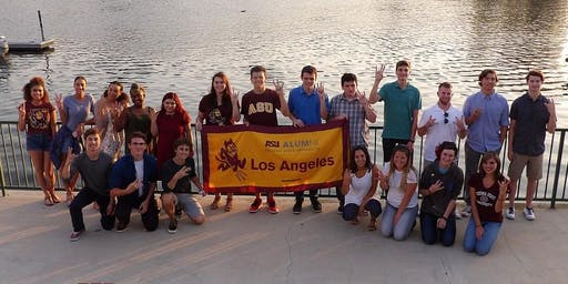 LA - Calabasas\Bell Canyon: ASU Sun Devil Send-Off
