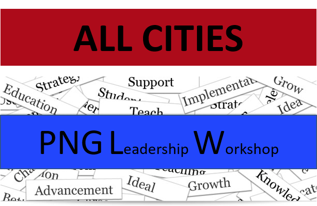 6/30/19 - ALL CHAPTERS - FREE PNG Leadership Workshop Event