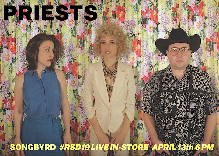 Priests Record Store Day In-Store Performance! image