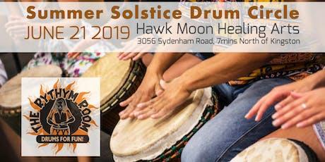 Summer Solstice Drum Circle at Hawk Moon Healing Arts  tickets