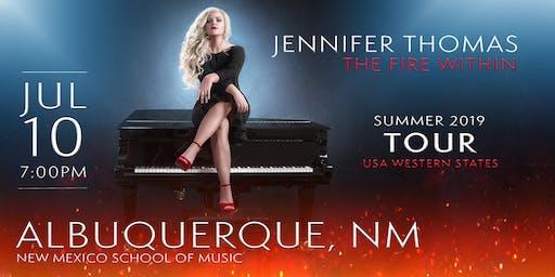 Jennifer Thomas - The Fire Within Tour (Albuquerque,NM)