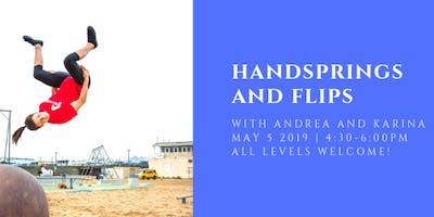 Handstands and Flips