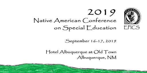 2019 Native American Conference on Special Education (Exhibit)