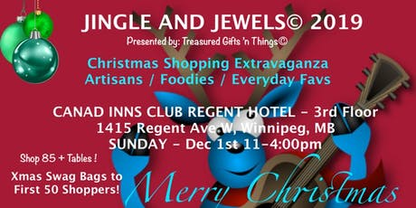 JINGLE AND JEWELS 2019 - Christmas Shopping Extravaganza! tickets