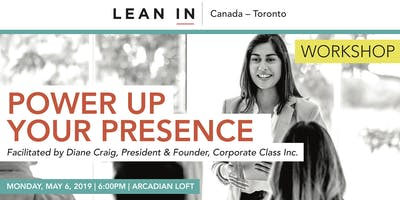 Lean in Canada - Toronto: Power Up Your Presence