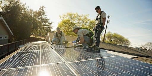 Volunteer Solar Installer Orientation with SunWork - Berkeley - 2 pm to 5 pm