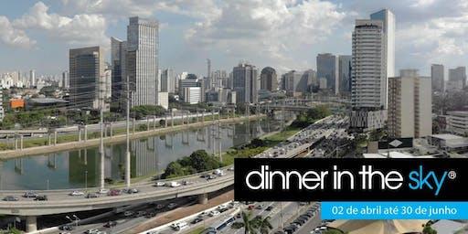 .25/06/2019 | Dinner in the Sky Brasil