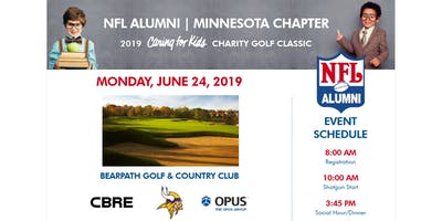 """NFLA Minnesota Chapter 2019 """"Caring For Kids"""" Charity Golf Classic"""