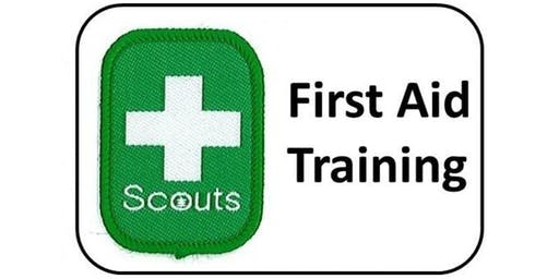 First Aid Training Course for Scout Volunteers