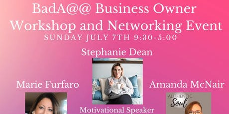 Bada@@ Business Owner Workshop and Networking Event tickets