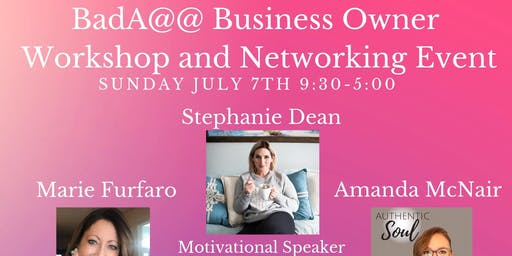 Bada@@ Business Owner Workshop and Networking Event