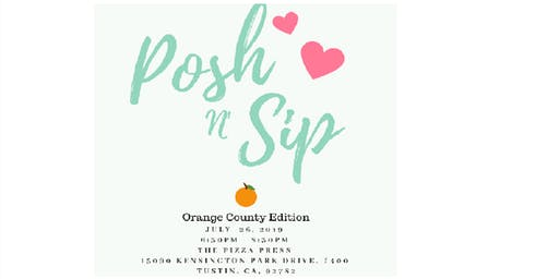 Posh and Sip Orange County