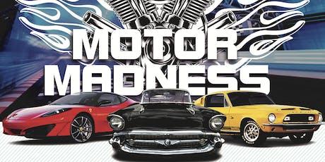 Motor Madness Vendor Booth plus Membership tickets