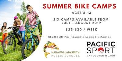 PSVI Bike Camps | Cedar Elementary | July 29-August 2, 2019