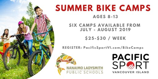 PSVI Bike Camps | Cedar Elementary | July 29-August 2, 2019