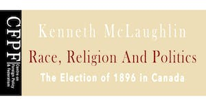 Book Launch for Kenneth McLaughlin's Race, Religion,...