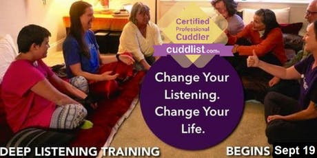 Deep Listening Training Sept 2019 tickets