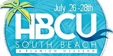 HBCU SOUTH BEACH WEEKEND tickets