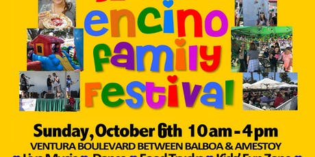 Encino Family Festival: One-Stop Fun, Food Trucks, Games, Shopping  tickets
