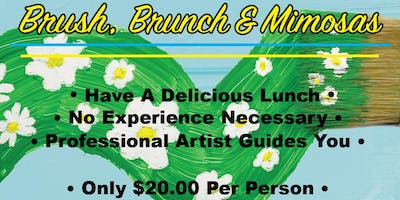 Brush, Brunch and Mimosas-June 1