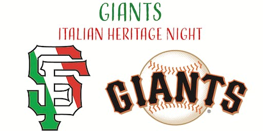 Giants Italian Heritage Night