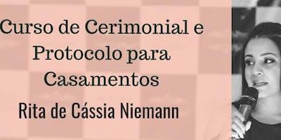 Curso de Formação para Cerimonialistas (ênfase em Casamentos) Belo Horizonte