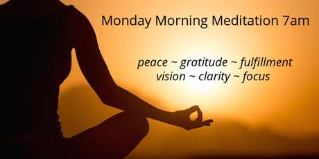 Monday Morning Meditation in North Beach tickets