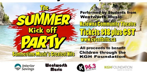 The Summer Kick Off Party (2pm show)