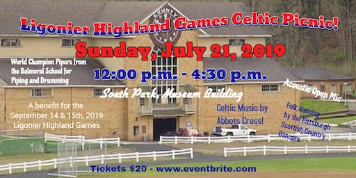 2019 Ligonier Highland Games Preview Picnic with Scottish Entertainment