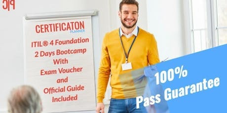 ITIL 4 Foundation 2 Days Classroom in Halifax tickets