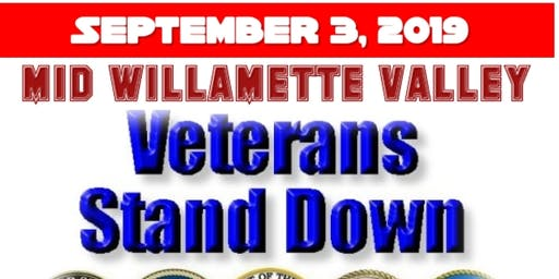 2019 Mid Willamette Valley Veterans Stand Down
