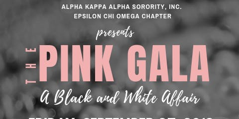 The Pink Gala - A Black and White Affair
