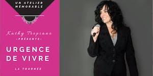 Urgence de vivre - Conférence Bordeaux (2 mai)