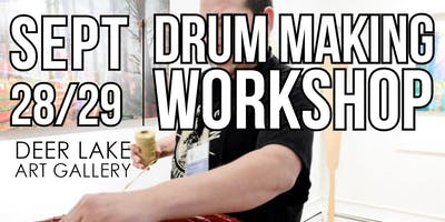 Traditional Coast Salish Drum Making Workshop with Brandon Gabriel