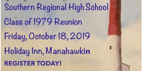 Southern Regional High School Class of 1979's 40th Reunion tickets