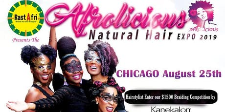 Afrolicious Hair Expo Chicago 2019 tickets
