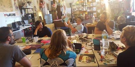 Weeklong Comics Workshop - October 14-18, 2019 entradas