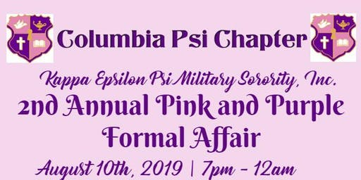 Columbia Psi 2nd Annual Pink and Purple Formal Affair