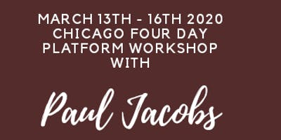 4 Day Chicago Platform Workshop With Paul Jacobs