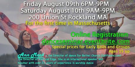 Dance Seminar with Ann Mack tickets