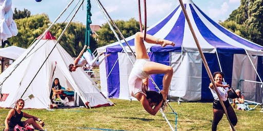 Aim to Fly Circus Workshops with Readipop