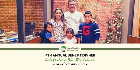 SJC 4th Annual Benefit Dinner tickets
